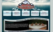 Arctic Spas Home Page